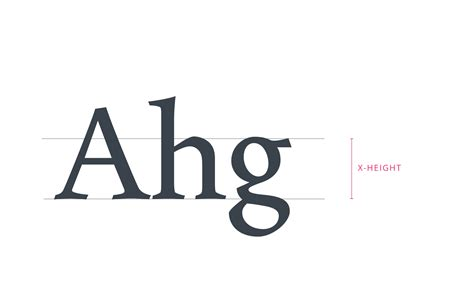 typography x height typography in ui guide for beginners design4users