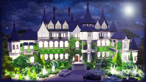the great gatsby mansion the sims 4 speed build great gatsby s mansion part 1