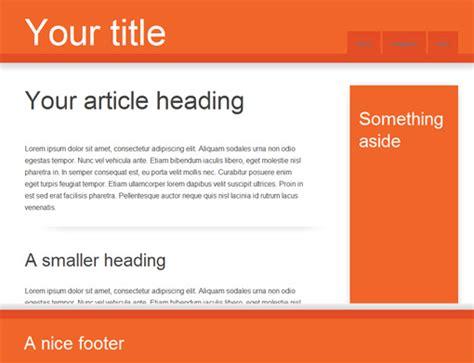 template generator html5 initializr een template generator op basis van html5