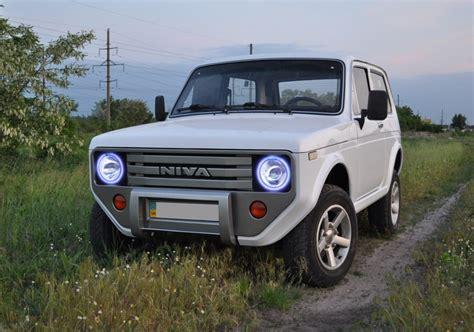 Lada Niva Lada Niva With Custom Front And Rear Fascias Looks