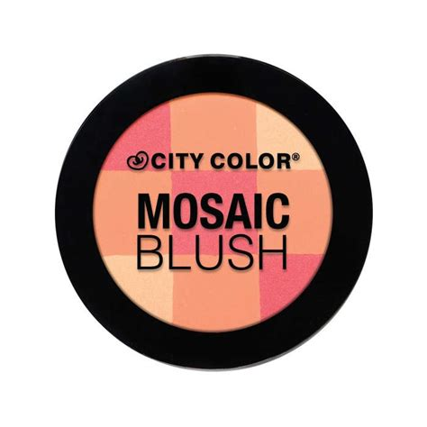 City Color Blush fard 224 joues mosaic blush city color colorsandmakeup