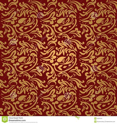 Background Polos Merah Maron 2 5 X 5 M floral maroon stock vector image of scroll damask