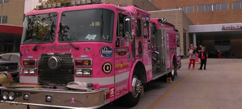 huber heights emergency room pink truck tour kettering health