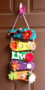 Flip flop wreath live by auntellengifts on etsy