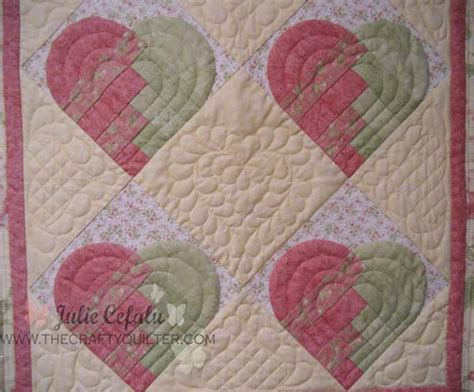 At Home Quilting by Welcome Home Sweet Hearts The Crafty Quilter