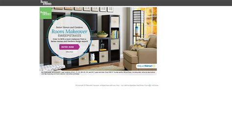 Room Makeover Sweepstakes 2015 - bhg com roommakeover bhg room makeover sweepstakes
