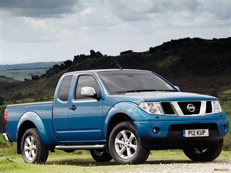 nissan navara wallpaper nissan navara king cab uk spec d40 2005 10 wallpapers