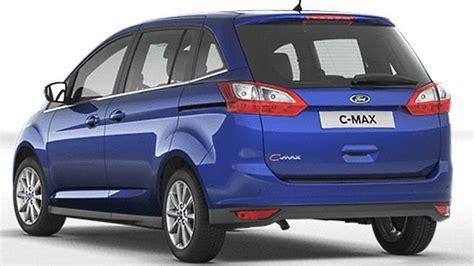 Ford Grand C Max Kofferraumvolumen by Ford Grand C Max 2015 Abmessungen Kofferraum Und Innenraum