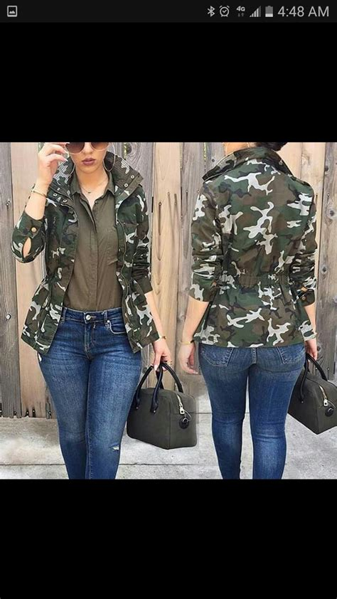 An Exhibit Of Camo Chic by Best 25 Camo Jacket Ideas On Camo