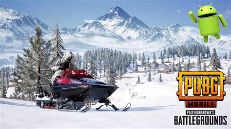 pubg apk new pubg mobile snow map android apk