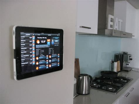 Great Kitchen Ideas by Wallee The First Stylish Wall Mount For Your Ipad Bit