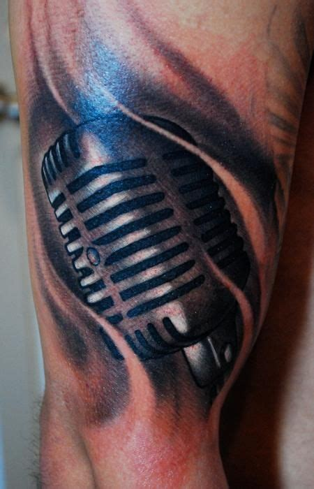 studio microphone tattoo designs 41 best microphone tattoo images on pinterest microphone
