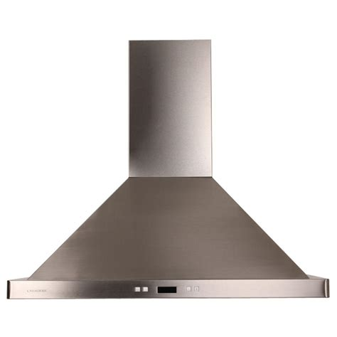 cavaliere 36 in island chimney range in stainless