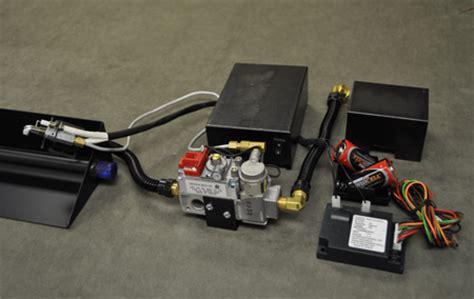 fireplace millivolt electronic ignition valve kit for use