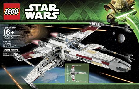 Lego Wars 10240 5 X Wing Starfighter lego ultimate collector s series 5 x wing 10240 the