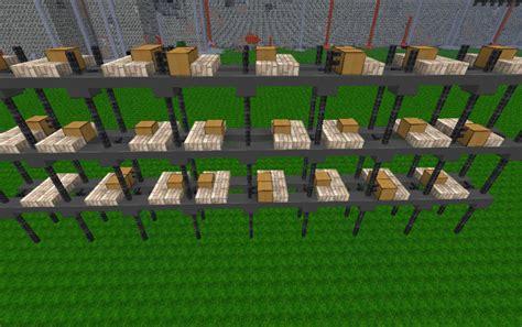 warehouse crate shelves creation