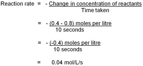 tutorial questions on rate of reaction rate of chemical reaction