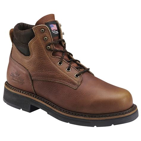 thorogood boots s thorogood 174 6 quot american heritage boots tobacco
