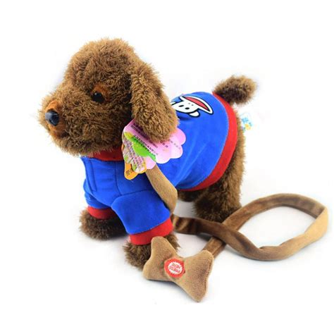 Mainan Boneka Robot Anjing Lovely Animal jouets chien marche barking jouet chien robot en peluche musicale interactive jouet chiens