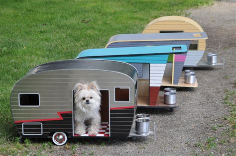 mini trailer house cool dog house upgrade instantly endearing pet trailer design freshome com