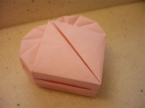 Shaped Origami Box - origami box useful origami