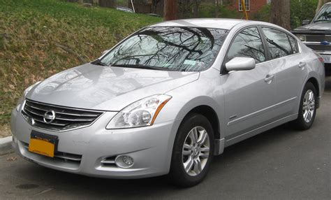nissan altima hybrid 2011 nissan altima hybrid photos informations articles