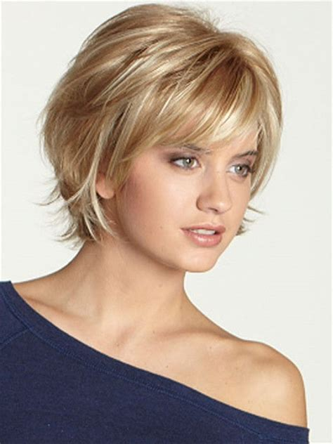 k mitchell short hairstyles with a soft bang short layered bob hairstyles 2016 when com image