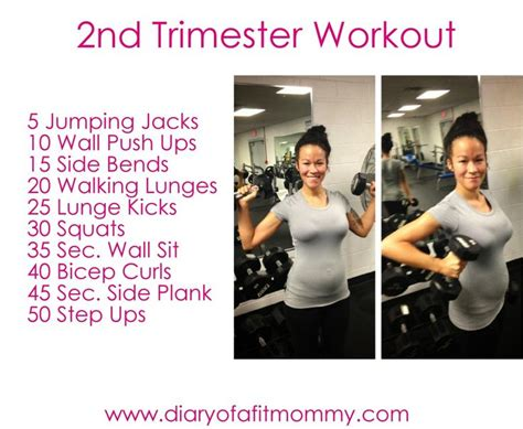 best 25 second trimester workouts ideas on
