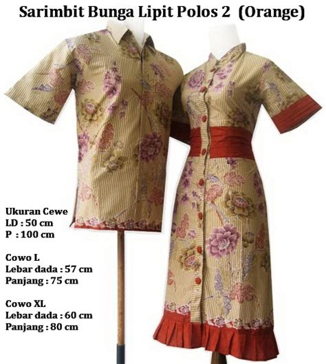 Sarimbit Batik Dres Lipit sarimbit bunga lipit polos javaethnics s