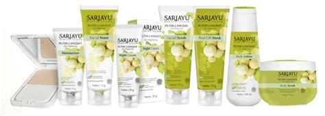 Scrub Wajah Sariayu 5 bahan yang wajib kamu coba untuk kulit cerah dan