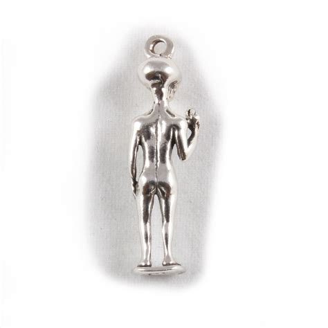 charm 3d sterling silver charms ufo just landed ebay