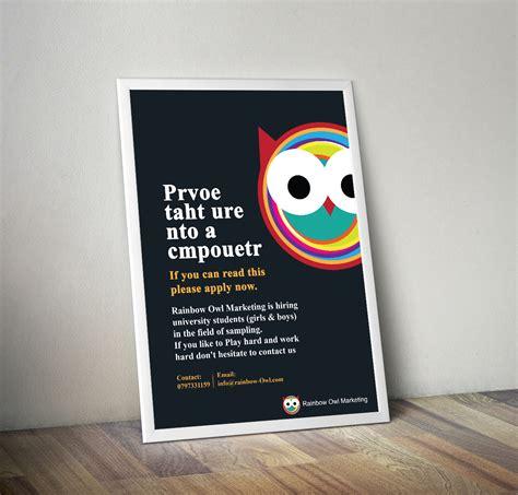 design crowd adalah skyseo tips mendesain poster agar menarik dan kreatif