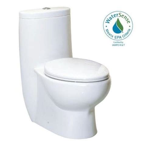 magic flush 1 high efficiency dual flush elongated