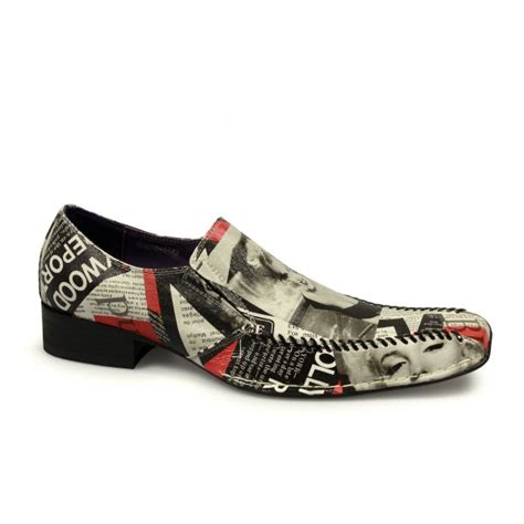 funky shoes gucinari marilyn mens funky leather slip on