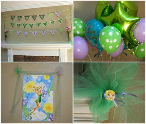 tinkerbell decorations ideas birthday party tinkerbelle all things elise alina elise s second birthday