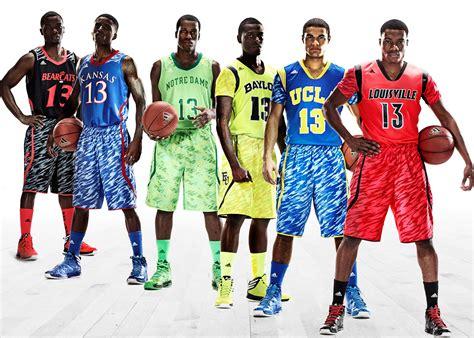Sepatu Basket Adidas Dame 4 Green Camo Army White adidas reveals new ucla kansas uniforms picture business insider