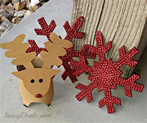 cool christmas crafts with toilet rolls natural new age mum
