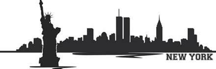 new york skyline clipart many interesting cliparts