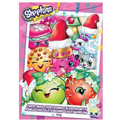 Calendar Shop Nz Buy Shopkins Advent Calendar Chocolates 65g At