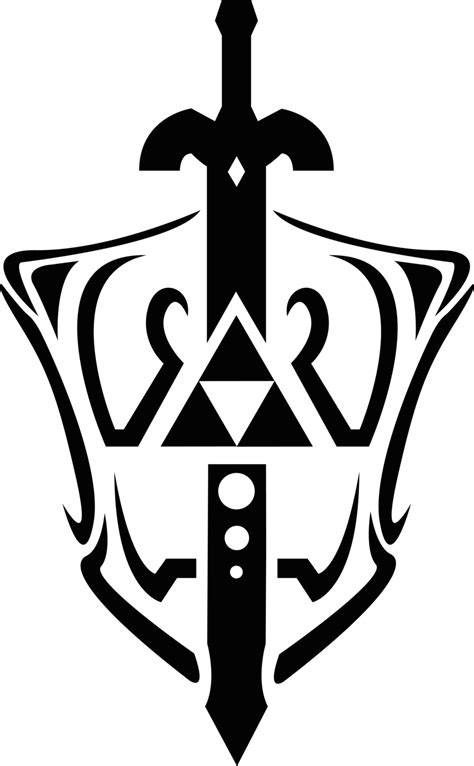 sword tattoo png triforce and master sword 2 by dassutran on deviantart