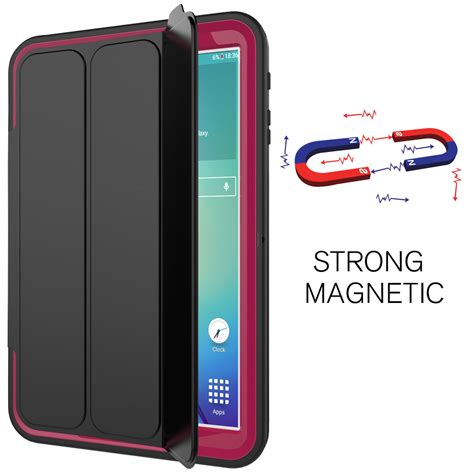 Casing Samsung Tab S2 smart shockproof stand screen protector for