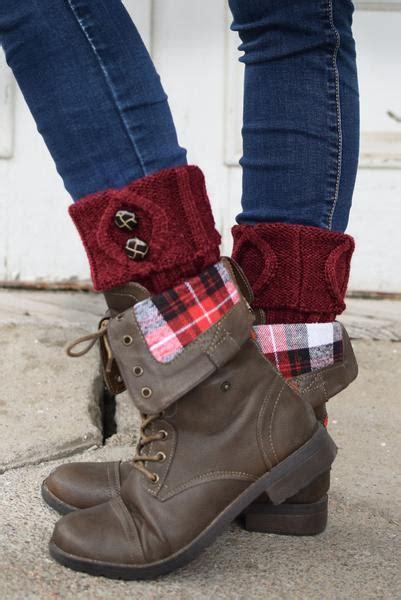 merlot two button boot cuffs bootcuffsocks