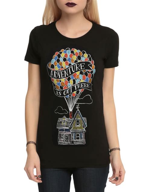 hot topic funny shirts disney up adventure is out there girls t shirt disney