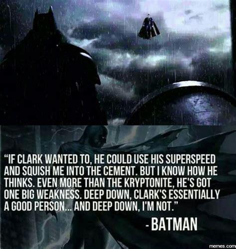 Superman And Batman Memes - batman vs superman