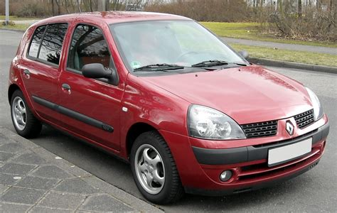 Wiki Renault Clio File Renault Clio Ii Front 20090329 Jpg