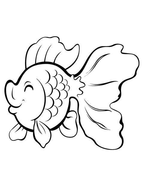 fish drawing outline cliparts