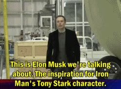 elon musk tony stark iron man gifs find share on giphy