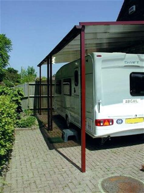 carport caravan caravan carport 3m projection the canopy shop