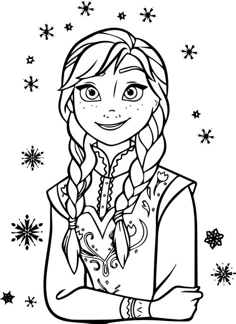 47 Best Coloring Pages Images On Frozen Coloring frozen coloring pages vitlt