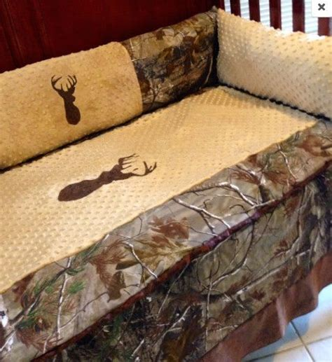 realtree baby bedding brown buck realtree ap camo hunting baby bedding set for